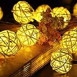 Luces solares de jardín decorativas Salomeus 20 LEDS