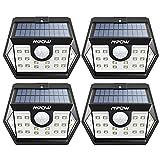 Mpow - Luz Exterior 24 LED con Energšªa Solar a Prueba de Agua, Sensor de...