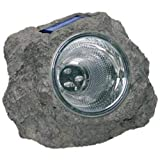 Lámpara Spot Caillou Solar a LED impermeable para jardín