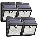 【4 Paquete】Luz Solar Exterior 150 LED, Trswyop Foco Solar Exterior con 120...