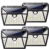Luz Solar Exterior 118LED, Kilponen Foco Solar Exterior con Sensor de Movimiento...