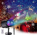 BACKTURE Luces de Proyector de Navidad, LED Lámpara Iluminación Exterior...