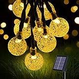 flintronic Cadena de Luces Led Solar, Guirnaldas Luces Exterior, 36ft/11m 60LED...