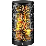 luces Llama jardin solares exterior, luces Llama decorativas, luz de la antorcha...