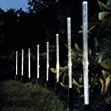 Garden mile 8 X LED LUZ SOLAR CRISTAL BURBUJA METER USA ENERGÍA SOLAR PILAS...
