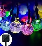 lederTEK 2 PACK Cadena de Luz LED con Energía Solar (6m 30LED) para Árbol de...