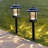 Baliza solar con faroles Lights4fun