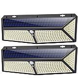 Luz Solar Exterior, [2020 Más Brillante Modelo 288 LED 2500 Lumens 2-Paquete]...