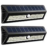VICTSING 77 LEDs 1000 Lúmenes Focos Solares con Sensor de Movimiento, Rango de...