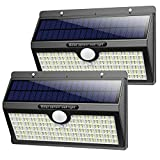 Luz Solar Exterior, Pxwaxpy【286 LED & 2600 Lumen】 Luces Solares con Sensor...