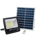 ELEDCO Luz Solar Exterior Mando a Distancia 100W, Foco Solar LED, Luz Neutra...