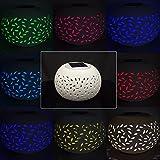 solalite LED Luz solar Wind con agua de caracteres, con colores cambiantes