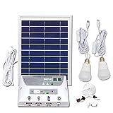 Portátil Mobile Solar Iluminación Sistema, con 1 * 1W E27 Bombilla LED y 1 *...