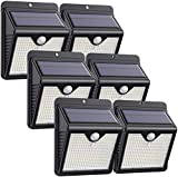 Luz Solar Exterior, [2020 Más Nuevo Modelo 6-Paquete 150 LED - 1000 Lumens]...