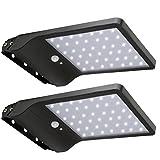 20W LED Solar Farola, lámparas de pared con detector de movimiento para...
