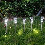 3 Estaca Luces Solares Focos LED Jardin Decoracion , Luces con Mosaico colorido...