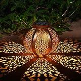 Faroles Solares Exteriores Luz Solar Colgante Luces Jardines Decorativas...