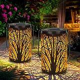 Farolillos Solares Exterior, SINJIALight Arce Luz Solar Jardin para Navidad,...