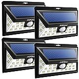 Mpow - Luz Exterior 24 LED con Energ¨ªa Solar a Prueba de Agua, Sensor de...