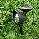 Solar 3 LED Garden Lamp Spot Light Party Path Spotlight Outdoor Lawn Landscape