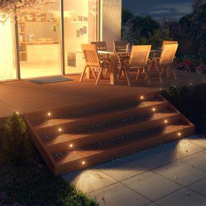 Spots para señalizar escaleras en amazon lamparas