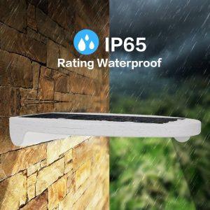 Aplique solar con protección IP