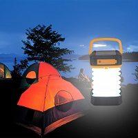 Linternas solares para camping