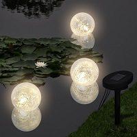 lampara flotante para estanque y piscina
