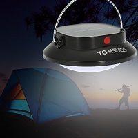 lampara solar para camping